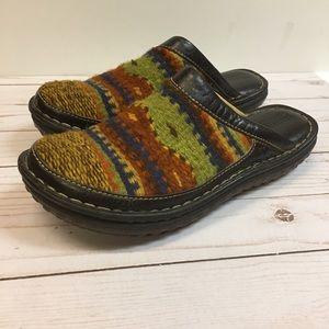 Born Women's Wool & Leather Clogs/Mules, SZ 7
